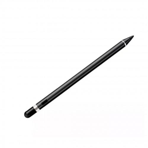 Caneta Touch Screen Ponta Fina 2mm Alta Precisão para Tablet iPad Iphone Smartphone - Preta