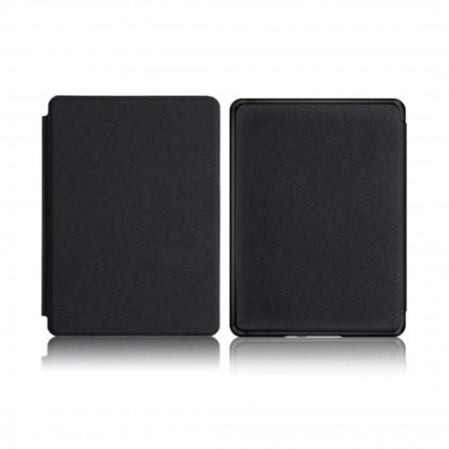 Capa Case Couro Sintético Magnética Kindle J9g29r 10 Geração - Preto